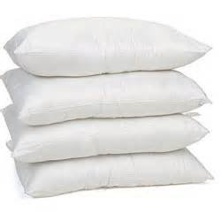 Set of Four Hypoallergenic Microfiber Pillows (Standard/Queen)