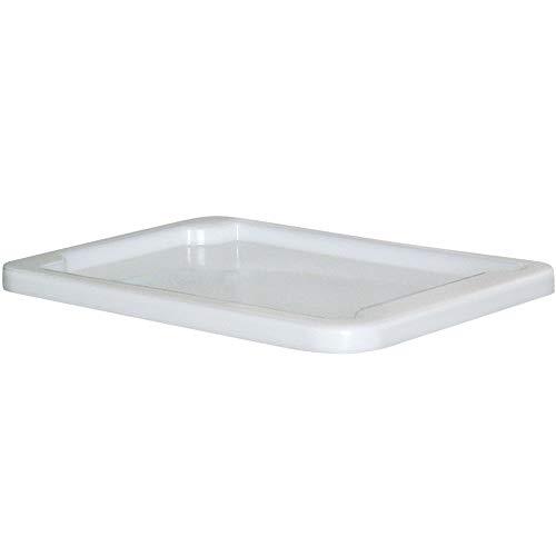 Stülpdeckel für Eurobehälter/Drehstapelbehälter 800x600 mm, weiß
