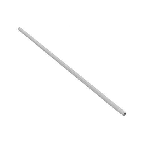 Ampel 24 Trampolin Netzstange unten, Pfosten Länge ca. 137 cm, Ø Stange ca. 2,8 cm, Netzpfosten Silber, Ersatzteil für Gartentrampolin Ø 366-490 cm