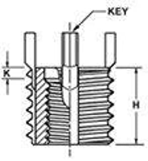 Acme-Industrial 215-065955 Thin Wall Insert