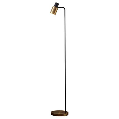 FAFZ eenvoudige vloerlamp van metaal Nordic tafellamp verticaal individueel creatief slaapkamer woonkamer goud zwart