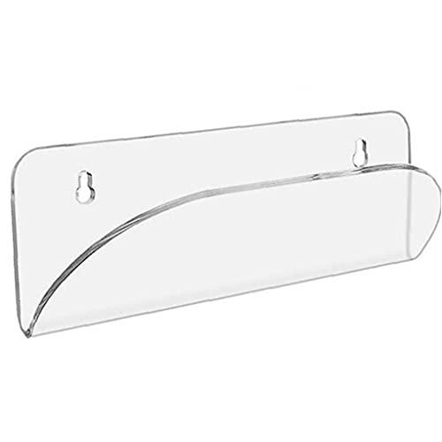 Uayasily Soporte para Monopatín De Montaje En Pared Transparente, Vertical, Horizontal para Almacenamiento De Su Monopatín O Patín De Longboard