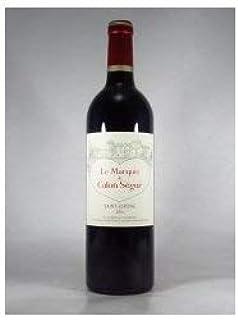 ル マルキ ド カロン セギュール 2016 ボルドー サンテステフ 750ml 赤ワイン フランス ボルドーワイン