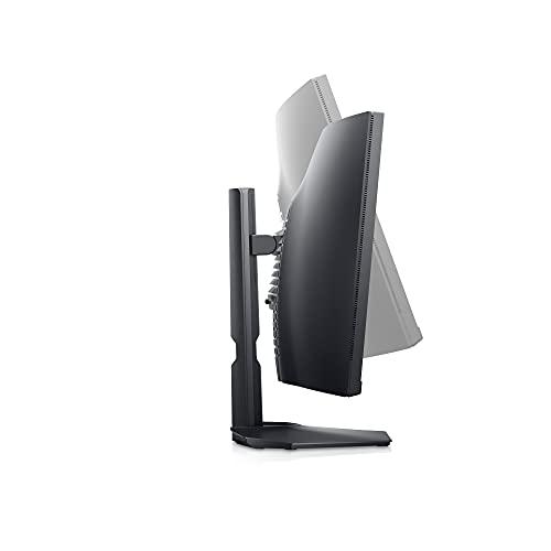 Dell S3422DWG, 34 Zoll, WQHD 3440x1440, Curved Gaming Monitor, 144 Hz, 1ms, 2X HDMI, 3 Jahre Austauschservice, schwarz