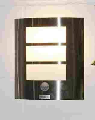 Edelstahl Osram LED Außenlampe Aussenleuchte mit Bewegungsmelder und Schalter für Dauerlicht