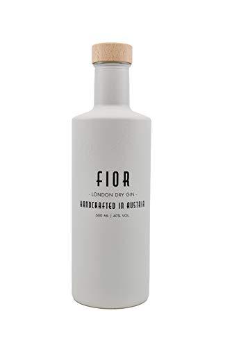 Gin FIOR - Handcrafted in Austria - Premium London Dry Gin, 40% vol. (1 x 0,5l) - 10 Botanicals bereiten ein unverwechselbares Trinkerlebnis