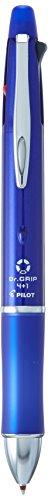 Pilot Dr. Grip 4+1, 4 Color 0.7 mm Ballpoint Multi Pen & 0.5 mm Mechanical Pencil - Blue Body (BKHDF1SFN-L)