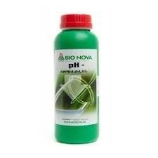 BN Bionova Bio Nova ph- (ph down) 1 LITRO - correzione acqua per idroponica e terra - water correction for hydroponics and soil