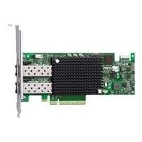 Emulex LPE-16002 Hostbus Adaptor PCI Express 2.0 x8 Low Profile 16 GB Fibre Channel x 2 for PowerEdge R520, R620, R715, R720, R815, R820