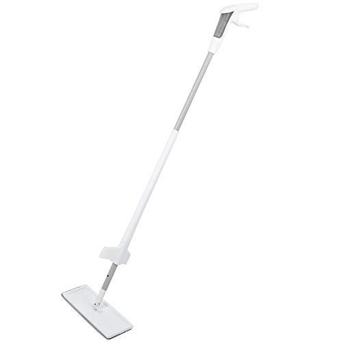 Cocoarm vlakke mop sproeiwisser vloerwisser met sproeifunctie Self Wringing Microfiber Mop Flat Floor Mop Kit herbruikbare pads
