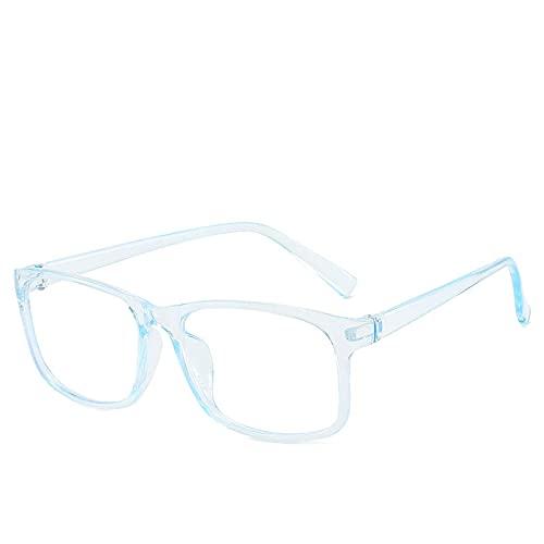 NIUBKLAS Gafas de bloqueo de luz azul, unisex, lentes transparentes,gafas deordenador,mujeres, hombres, gafas para juegos con luz azul, 1-BJ5209-C6