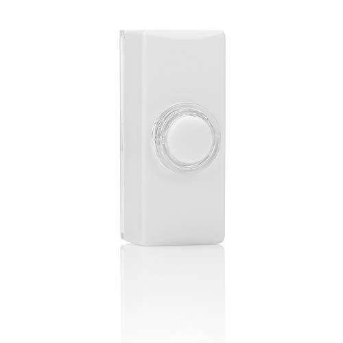Byron 7730 Verdrahteter Universal-Klingeltaster mit Beleuchtung in weiß