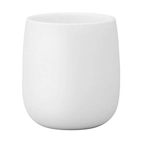 Stelton, Porcelaine blanche, hauteur 8,5 cm, diamètre 9 cm.