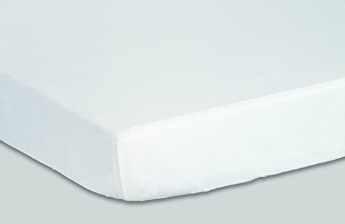 Priva Hypoallergenic Waterproof Vinyl Mattress Protector,...