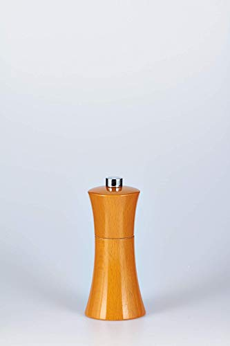 Bisetti Art. Code-77077 Verona oranje gelakte houten pepermolen, één maat
