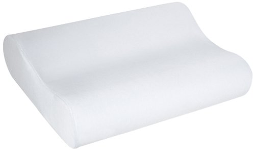 Sleep Innovations Contour Memory Foam Pillow, Cervical Support Pillow for Sleeping, Made in the USA...
