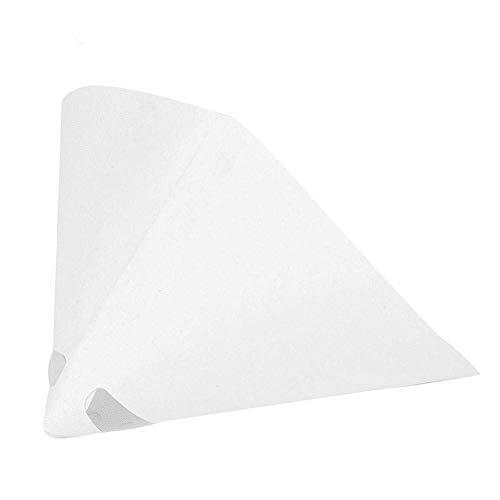 100 Mesh Lackiertes Papier Trichter Farbfilter Sieb Konischer Feinfilter Industrie-Beschichtungskegel-Trichter für Industrie-Farbfilter(100 Stück)