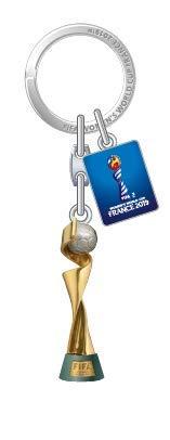 FIFA Women's World Cup France 2019™ Keyring Trophy with Tag, Unisex, Nachbildung, Einheitsgröße
