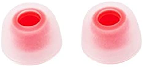White-Red 65t Tips S//M//L 3 Size 6 Pairs BLLQ 12 PCS Replacement Ear Gels Ear Buds Tips Eargels for Jabra Elite Active 65t Earbuds//Jabra Elite 65t Earbuds