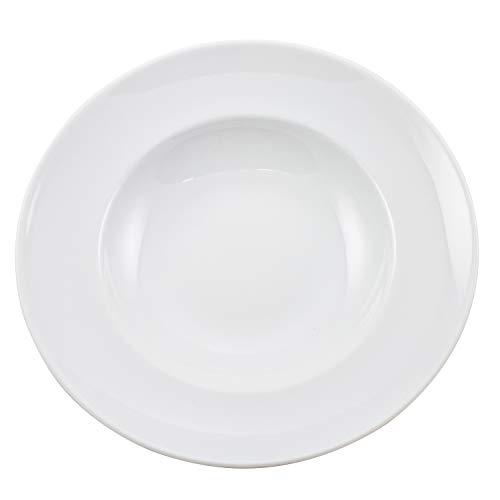Retsch Arzberg 950071274 Blanko Pastateller Ø 27 cm, Porzellan, weiß (1 Stück)