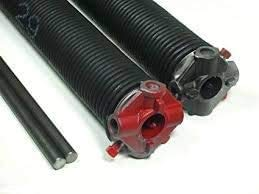 Best Bargain Garage Door Torsion Springs Pair .192 x 2' Spring Length: 20 1/2', with Winding Rods, C...