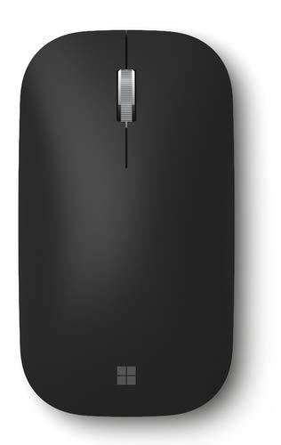 Microsoft Surface Mobile Mouse - Ratón (Ambidextro, Óptico, Bluetooth, Negro)