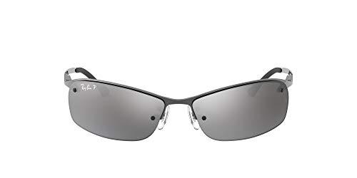 Ray-Ban RB 3183 Gafas de sol, Gunmetal, 64 para Hombre