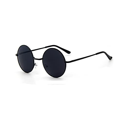 Zhou-YuXiang 801 Gafas de Sol Deportivas Moda para Mujer Gafas de Sol de película de Color metálico Personalidad Espejo de Color Diseño de Marca de Lujo