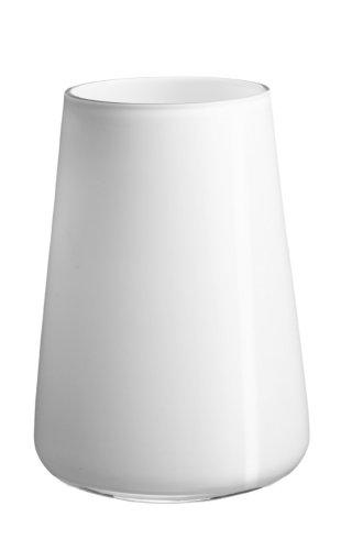 Villeroy & Boch Numa Vase Arctic Breeze, 20 cm, Glas, Weiß