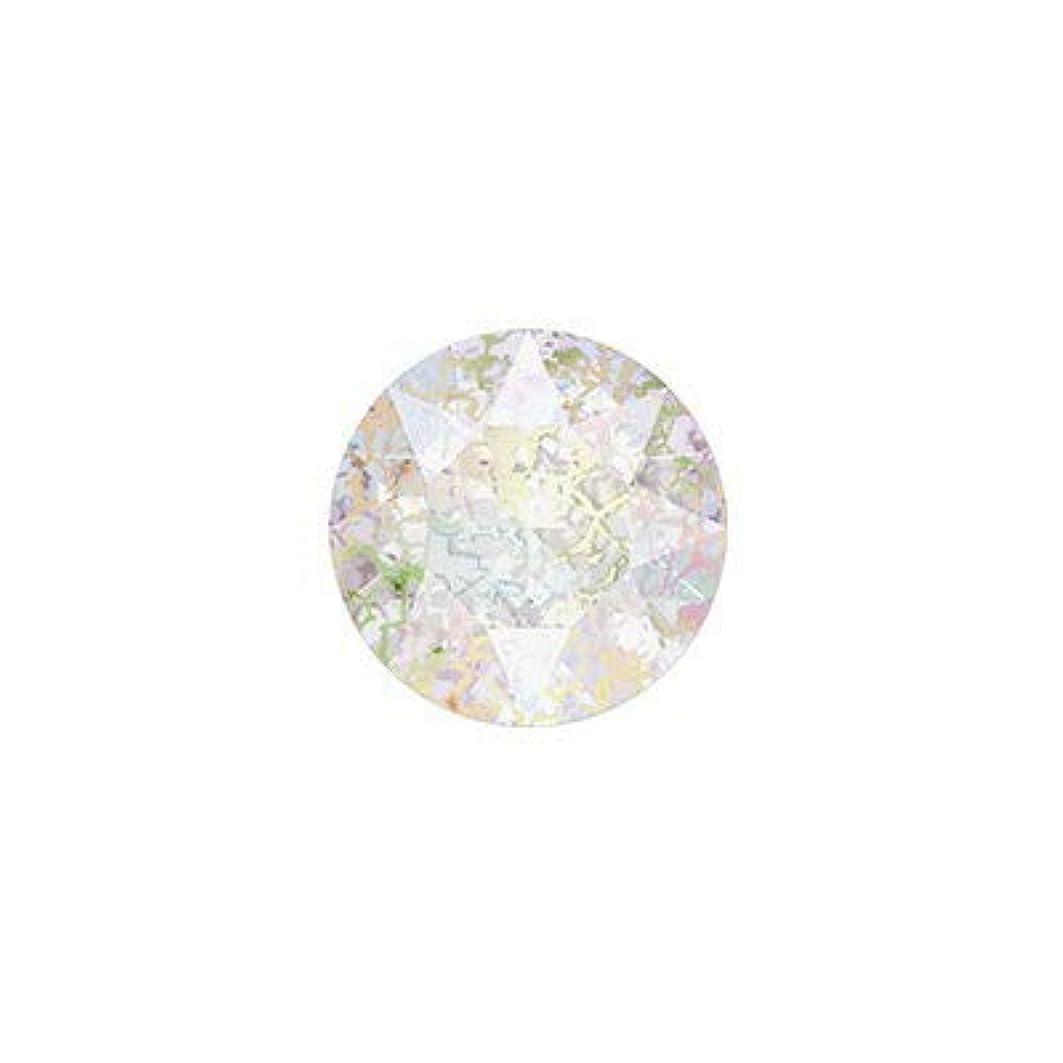 SWAROVSKI クリスタルホワイトパティナ ss39 #1088 チャトン(Vカット) 8P