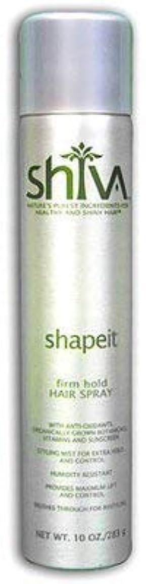 いちゃつくたくさん時々Shiva ShapeITヘアスプレー
