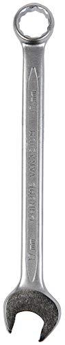 Stanley Ring-Maulschlüssel (17 mm, Chrom-Vanadium Stahl, zwölfkantiger Kopf, Maxi Drive Plus, verchromt) 4-87-077