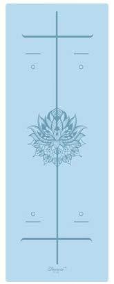 IAMZHL rutschfeste Yoga Gewichtsverlust-Trainingsmatte Fitness-Yoga-Matte-Sky Blue-b4