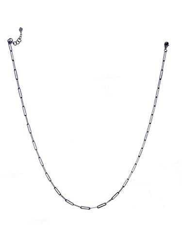 Bulvardi Collar fino de plata de 925 quilates con revestimiento especial contra la atenuación, regalo adecuado para madres, amantes, novias