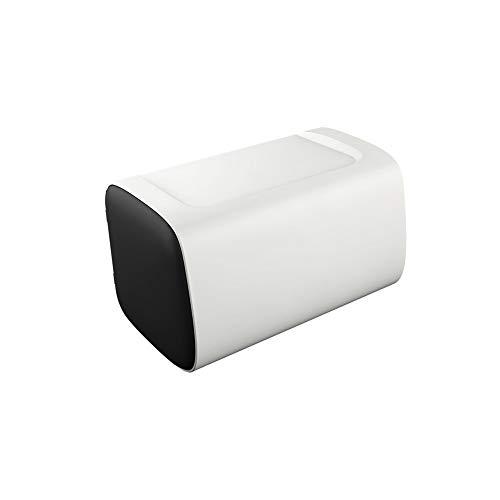 Tenedor de papel higiénico Apertura a la izquierda y derecha Diseño Caja de tejido Caja de pañuelo inodoro Aseo Impermeable Impermeable Montado en la pared Papel de papel Almacenamiento de papel sanit