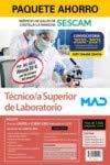 Paquete Ahorro y Test online GRATIS Técnico Superior de Laboratorio del Servicio de Salud de Castilla-La Mancha (SESCAM). Ahorra 72 € (incluye Temario ... gratis a Curso Oro con 2000 preguntas test)