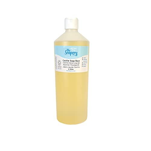 Base de Savon liquide Castile, 1litre - Biologique, sans sulfates, SLS, SLES et sans paraben