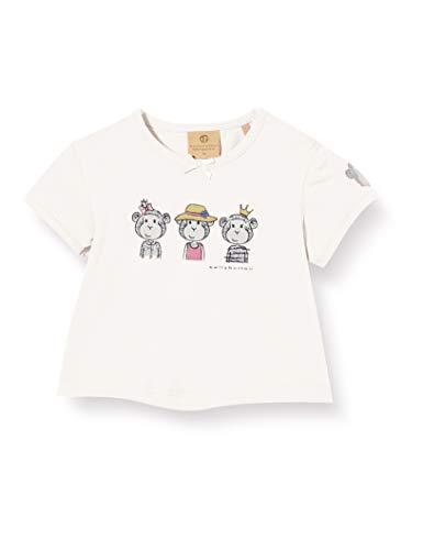 Bellybutton mother nature & me T- Shirt 1/4 Arm, Blanc (Cloud Dancer|White 1610), 74 Bébé Fille