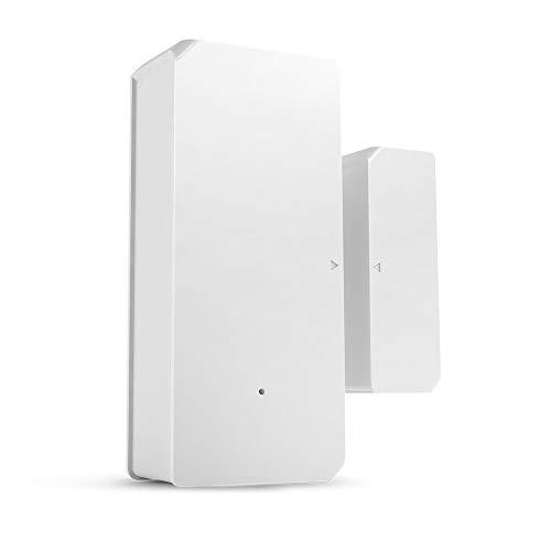 KCCCC Alarma de la Puerta Sensor de Ventana de Puerta autoadhesiva Sensor WiFi Puerta Sistema de Alarma Notificaciones de Empuje para la Seguridad de los niños (Color : White, Size : 2 Pack)