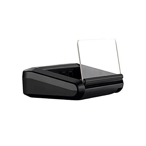 Parabrezza proiettore, Head-Up Display Intelligente Car Monitor Pratico Multifunzionale Parabrezza Proiettore Smart HUD Display ad Alta Definizione Adatta per Auto