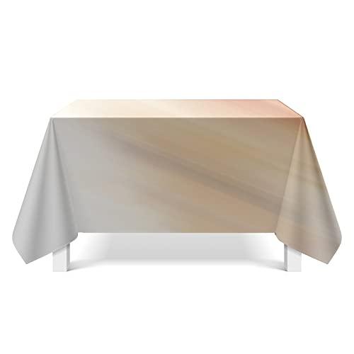 NTtie Borla del Paño de Tabla del Lino del Algodón para la Cubierta de Tabla de Cena del Banquete Impresión de Textura Aurora