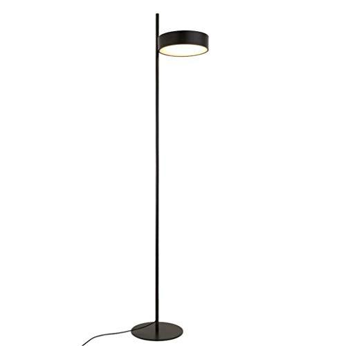 Household Home staande lamp, staande leeslamp, moderne persoonlijkheid woonkamer staande lamp creatief lezen oogbescherming verticale verlichting slaapkamer staande lamp verduisterende kleur oogschaduw