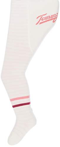 Tommy Hilfiger Unisex Baby TH Tights 1P Stripes Socken, Mehrfarbig (pink combo 174), 74/80 (Herstellergröße:074)