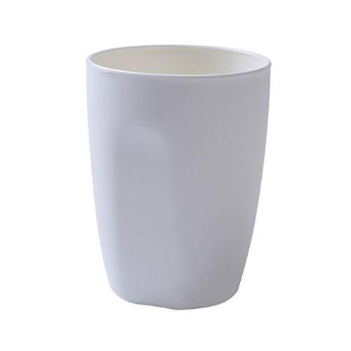 Lorsoul 400ml diseño Simple baño de Enjuague de Lavado de Dientes Taza de plástico Vaso Cepillo de Dientes Titular de la Botella de Agua de la Copa