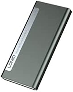 LDNIO ultra slim dual USB portable Power bank 10000mAh Model PQ1019/Portable power bank/External battery power bank