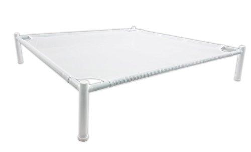 HOMZ - Tendedero para Ropa, Malla apilable, 68,5 x 68,5 cm, Marco de plástico Blanco