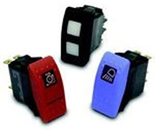 5 Items Switch Rocker None Off SPST Quick Connect Rocker//Paddle Rocker 20A 12VDC 150000Cycles Automotive Bulk V2D1160B-00000-000 ON