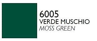 VMD 100 - bomboletta vernice acrilica spray 400 ml colori RAL professional (6005 VERDE MUSCHIO)