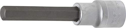 BGS 4264 Bit-Einsatz Länge 100 mm Antrieb Innenvierkant 12,5 mm (1/2 Inch) Innensechskant 10 mm, Schlüsselweite