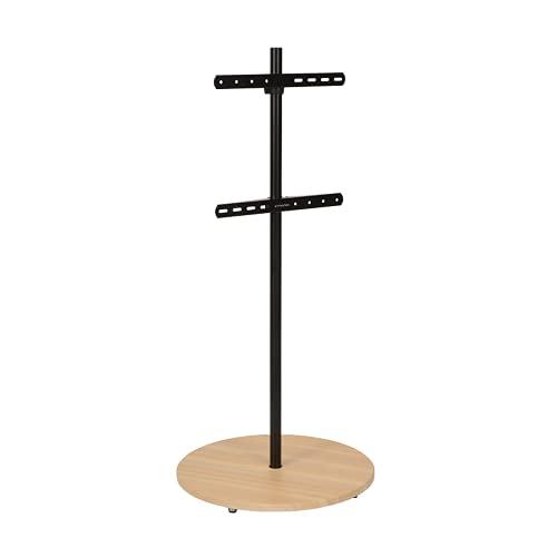 XTRARM Arius - Soporte para TV (recomendación de televisión: aprox. 32-65 pulgadas, VESA: 100 x 100, 200 x 200, 400 x 400 mm, giratorio), color negro
